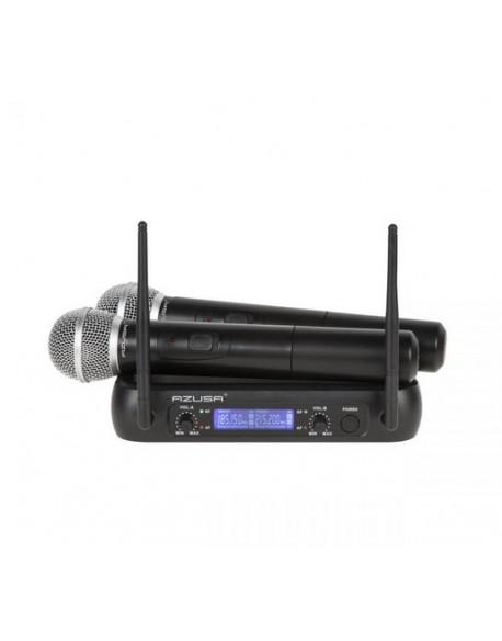 Mikrofon VHF 2 kanały WR-358LD (2 x mik. do ręki)