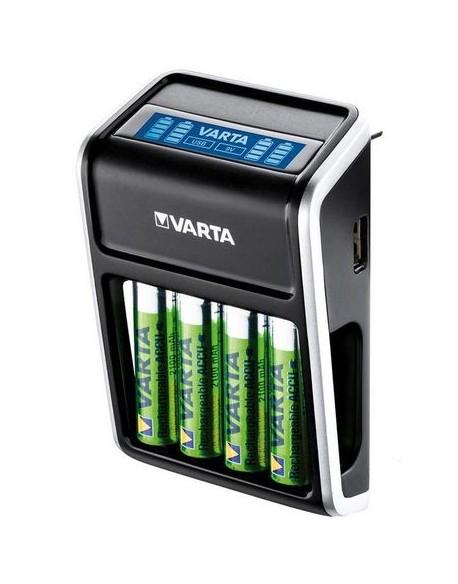 Ładowarka VARTA Plug LCD+4xAA2100mAh