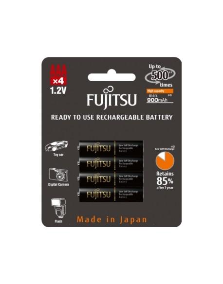 4 x akumulatorki Fujitsu BLACK HR-4UTHC R03/AAA 950mAh