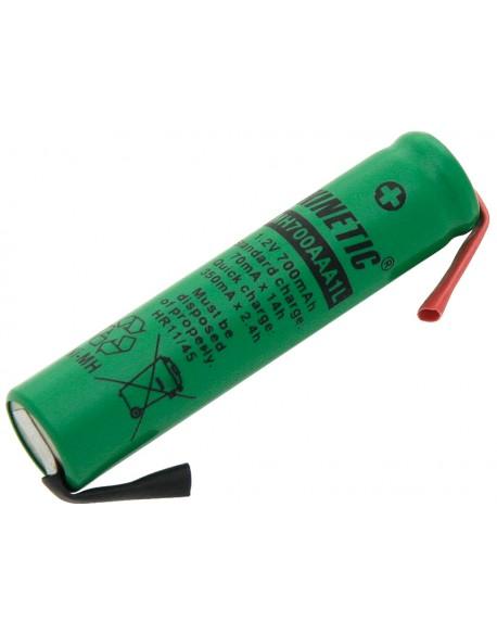 Akumulator R3 Ni-MH AAA 700mAh lutowania