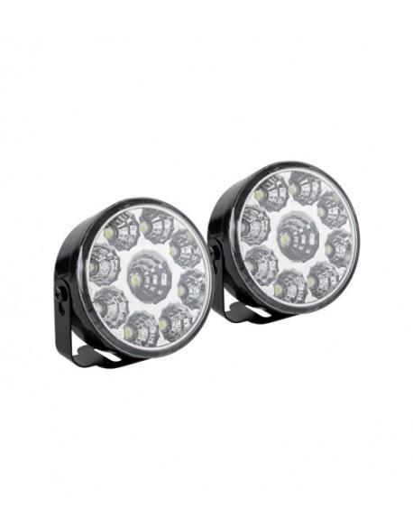 Światła do jazdy dziennej okrągłe (LED 06)