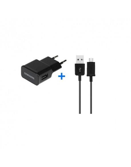 Ładowarka sieciowa Samsung ETA-U90EBE + kabel ECB-DU4EBE 2A czarna retail box