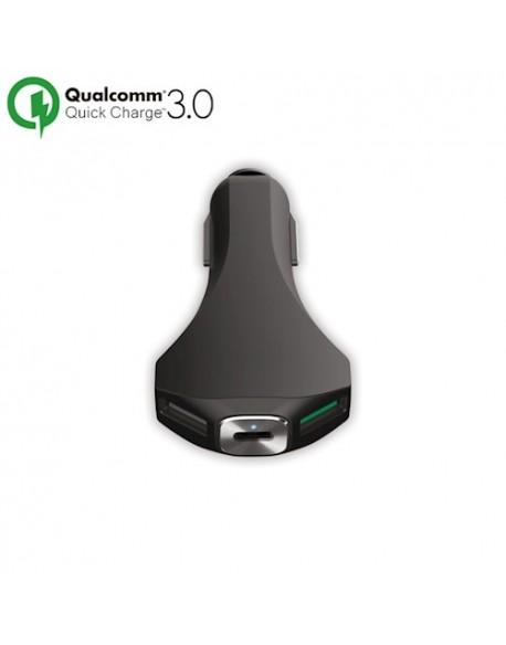 Ładowarka samochodowa Forever 2xUSB + Qualcomm 3.0 + USB Type-C PCC-02