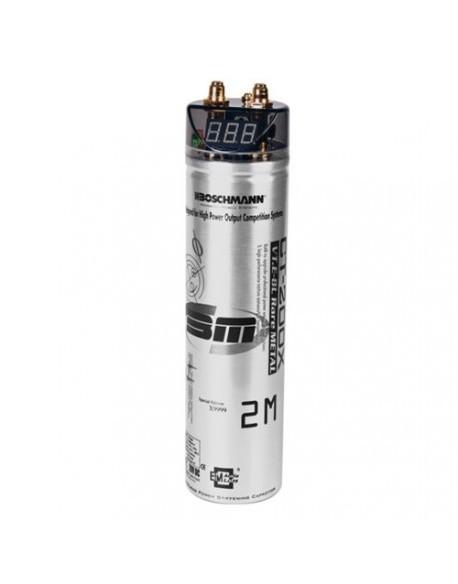 Kondensator samochodowy 2,0F/24V BOSCHMANN CT-200X