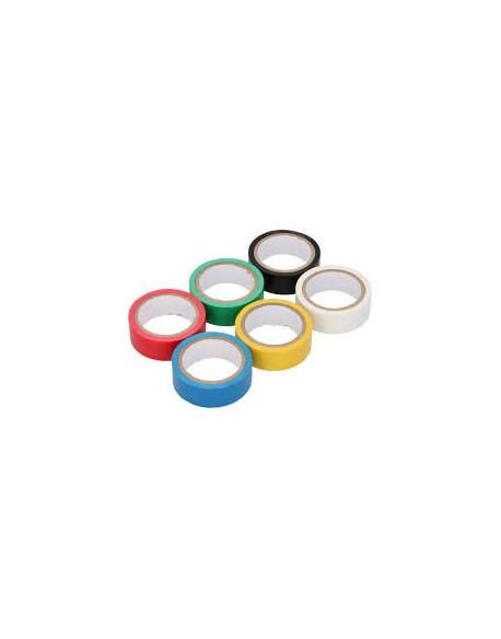Taśma izolacyjna KEMOT 0,13x19x10Y klejąca kolor