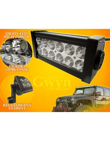Listwa LED Gwyn 36W CW Off Road 12V-24V