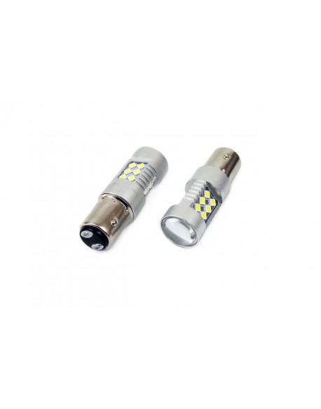 LED VERTEX CANBUS 24SMD 3030 1157 (P21/5W) White 12V/24V