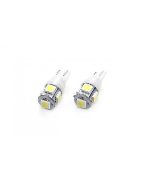 LED VERTEX T10 5050 5SMD STANDARD White