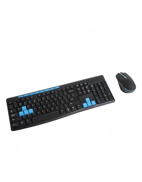 Klawiatura komputerowa + mysz bezprzewodowa 2,4GHz Quer