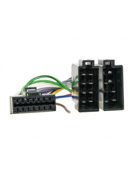 Złącze do radia Panasonic CQ-RD-105 czarna 16pin ISO KP105