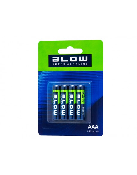 Bateria BLOW SUPER ALKALINE AAA LR3 blis