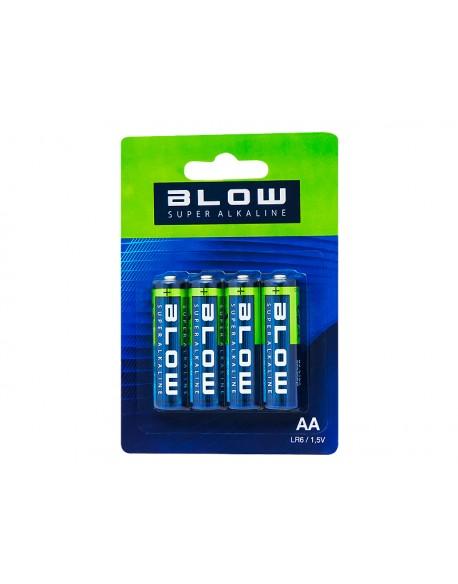 Bateria BLOW SUPER ALKALINE AA LR6 blis