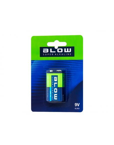 Bateria BLOW SUPER ALKALINE 9V 6LR61 bli