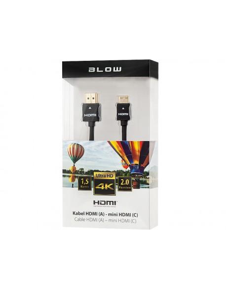 Przył.HDMI-mini HDMI PROFESSIONAL 4k1,5m