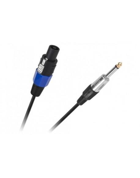 Kabel JACK 6,3 wtyk- STC wtyk 5m HQ