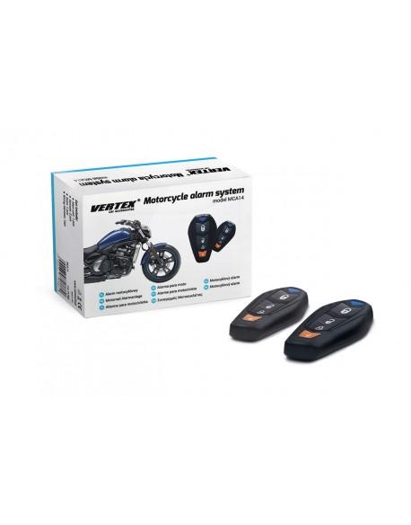 Alarm motocyklowy z pilotami MCA14
