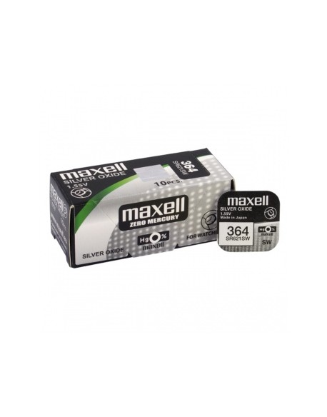 Bateria srebrowa mini Maxell 364 / SR 621 SW / G1