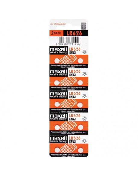 Bateria alkaliczna mini Maxell G4 / AG4 / L626 / SR626 / 377 / 626