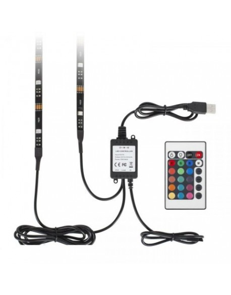 LED Backlight - sznur LED RGB do podświetlenia telewizora