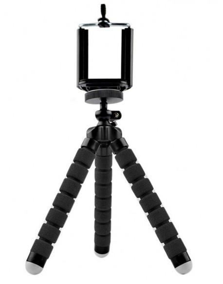 Uchwyt tripod, statyw elastyczny M-LIFE do telefonu / kamery sportowej czarny