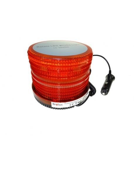 Lampa ostrzegawcza pomarańczowa 36W 10-30V 72 LED