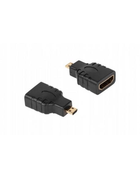 Złącze HDMI gniazdo-wtyk micro HDMI