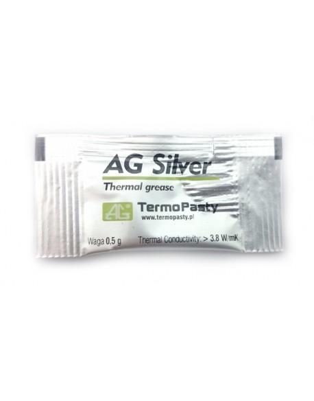 Pasta termoprzewodząca Silver 0,5g AG