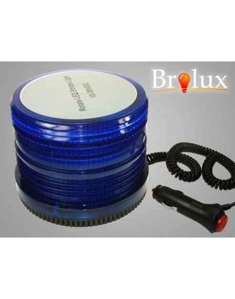 Lampa ostrzegawcza niebieska 15W 10-30V 72 LED