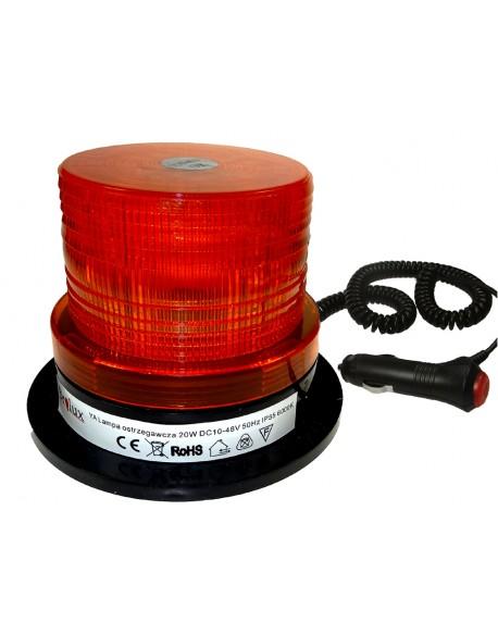 Lampa ostrzegawcza pomarańczowa 20W 10-48V 40LED