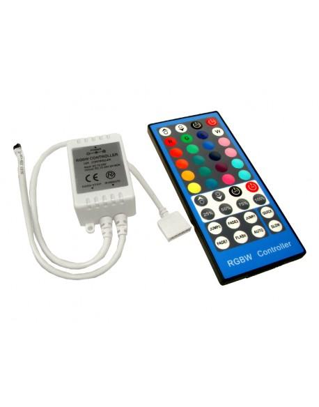 Kontroler LED RGBW IR 40 przyciski 8A