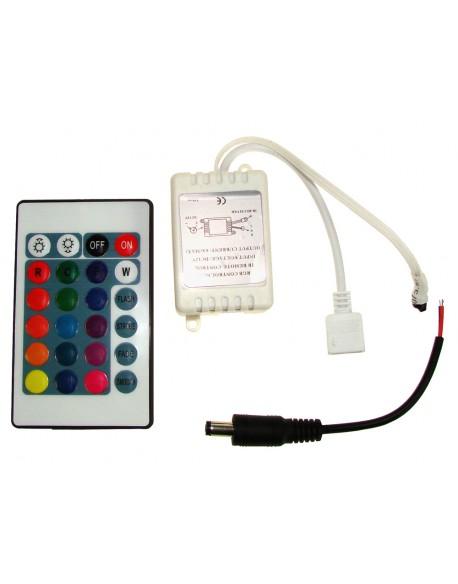 Kontroler LED IR 24 przyciski 6A