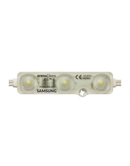 Moduł LED 3x5630 IP68 6500K 1,2W prostokąt Samsung