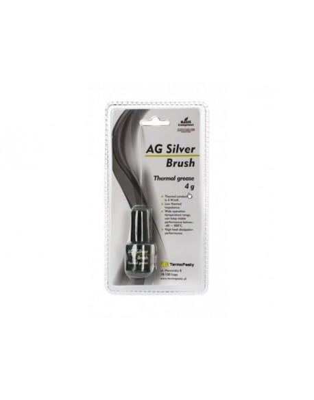 Pasta termoprzewodząca Silver Brush 4g AG