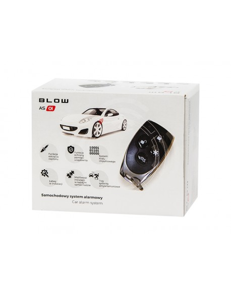Alarm BLOW CAR SYSTEM AS1