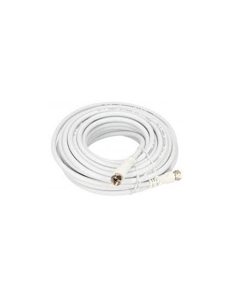Kabel wtyk F - wtyk F 10m