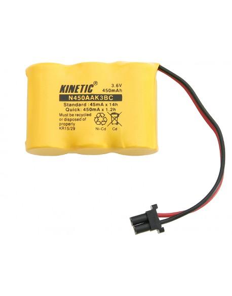 Akumulator P204 2/3AA 450mAh 3.6V
