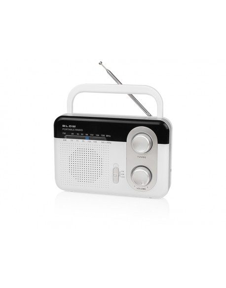 Radio przenośne analogowe AM/FM BLOW RA1