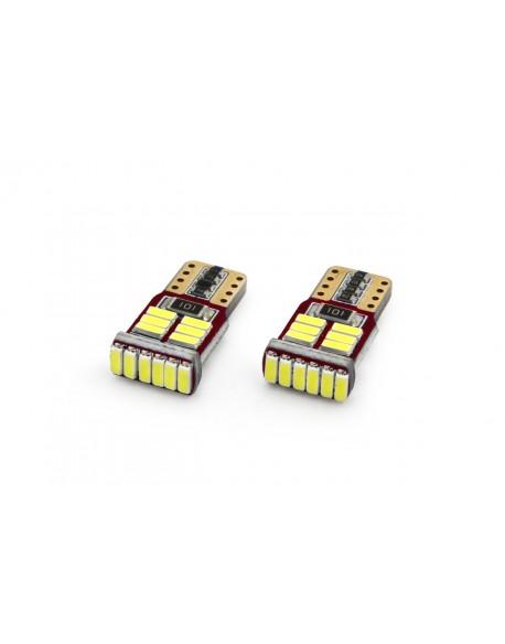 LED VERTEX CANBUS 18SMD 4014 T10e (W5W) White 12V