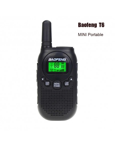 Baofeng BFT6 PMR Czarny 446MHz