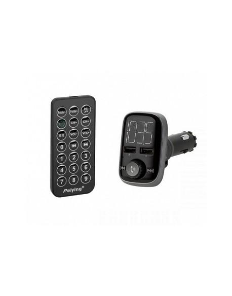Transmiter samochodowy z funkcją Bluetooth (2x gniazdo USB)