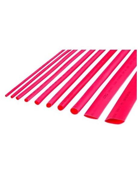 Rurki termokurczliwe 3,5mm-1m czerwone