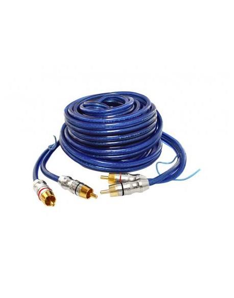 Kabel 2x2RCA+kabel sterujący 5m.
