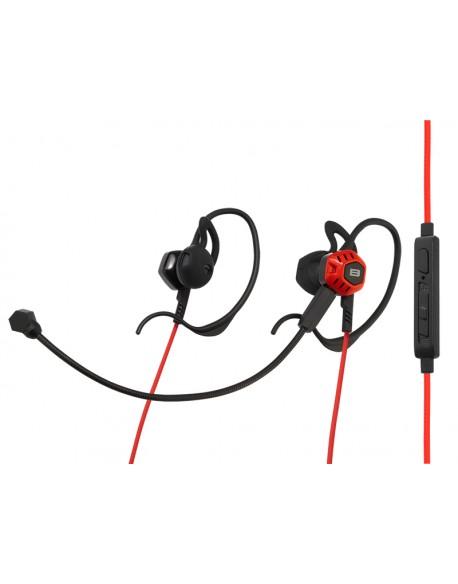 Słuchawki BLOW B-16 BLACK/RED dousz+mik