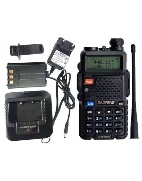 Radiotelefon DualBand Baofeng UV-5R HT Pro 1-8W
