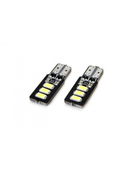 Żarówki LED CANBUS 6SMD 5730 T10 (W5W) White