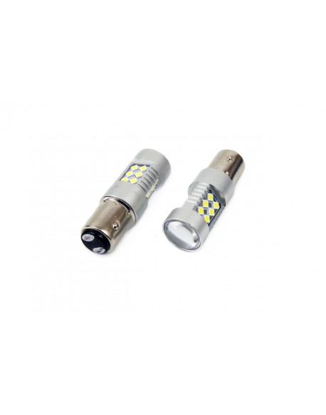 Żarówki LED CANBUS 24SMD 3030 1157 (P21/5W) White 12V/24V