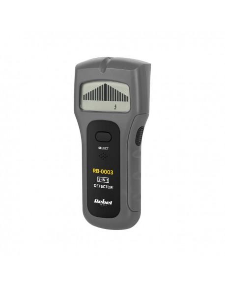 Detektor metali, napięcia i drewna Rebel Tools RB-0003
