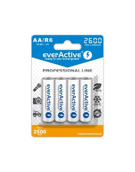 Akumulatorki everActive Ni-MH R6 AA 2600 mAh Professional Line