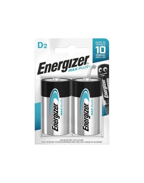Bateria alkaliczna D / LR20 Energizer Max Plus - 2 sztuki (blister)