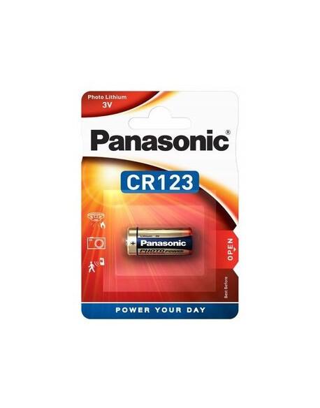 Bateria foto litowa Panasonic CR123 - 1 sztuka